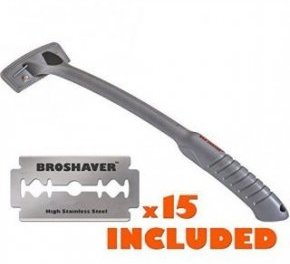 broshaver back hair removal
